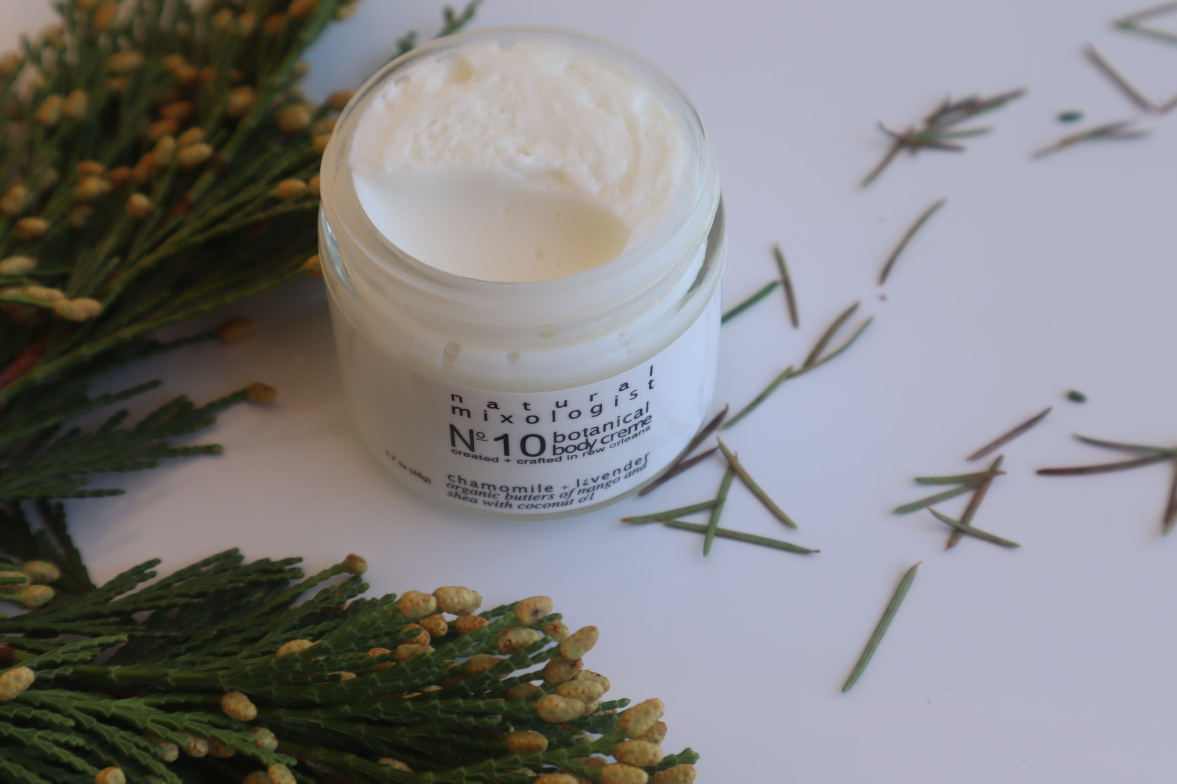 Natural Mixologist Chamomile and Lavender Body Butter