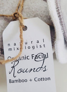 Organic Facial Rounds Bamboo + Cotton