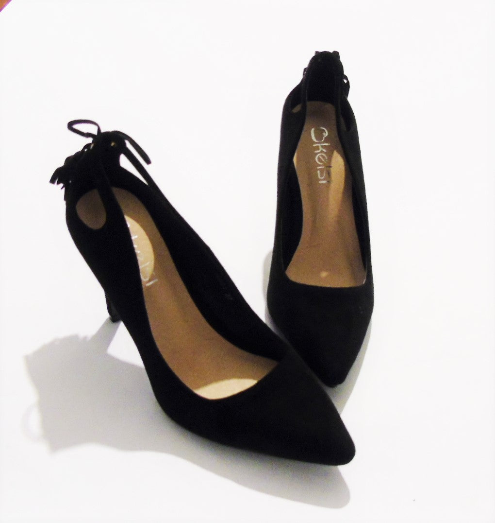 LADIES TASSEL COURTS BLACK