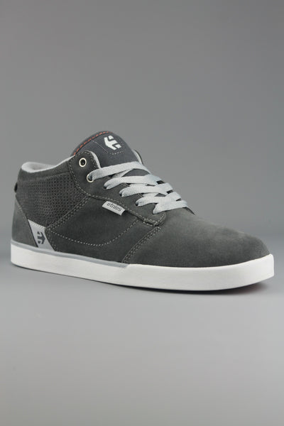 Etnies Jefferson Mid Grey Light Grey Skate Shoes Trainers - 4 Seasons Store