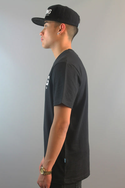 King Apparel All Day Long Short Sleeve T-Shirt Black - 4 Seasons Store