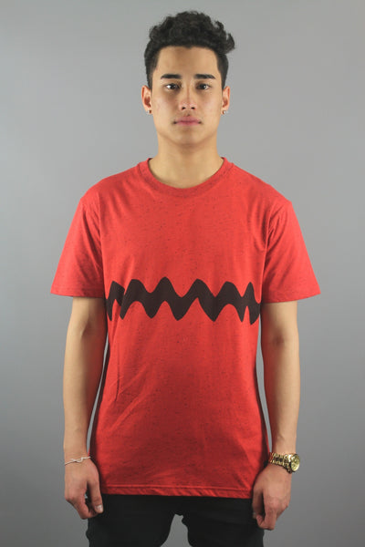 Trainerspotter TS577C Charlie Stripe T-Shirt Red - 4 Seasons Store