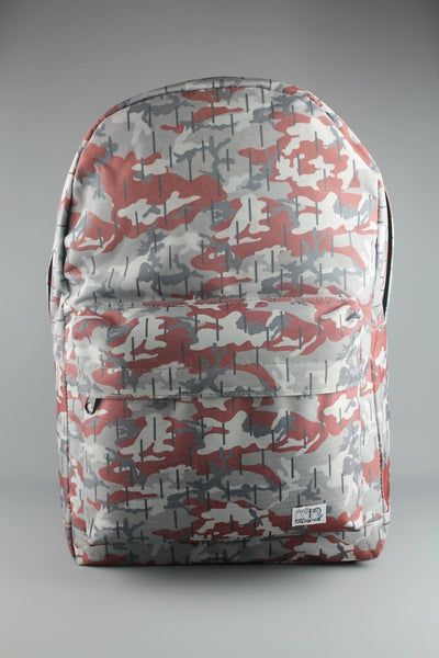 Spiral Woodland Camo Backpack Rucksack School Bag - 4 Seasons Store