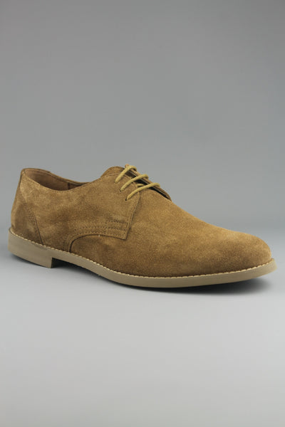 Frank Wright Wilson Tobacco Brown Suede Desert Shoes - 4 Seasons Store