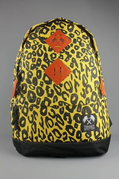Trainerspotter Leopard Backpack Rucksack School Bag - 4 Seasons Store