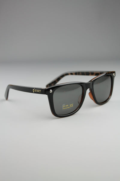 Glassy Sunhaters Mikemo Black Tortoise Sunglasses - 4 Seasons Store