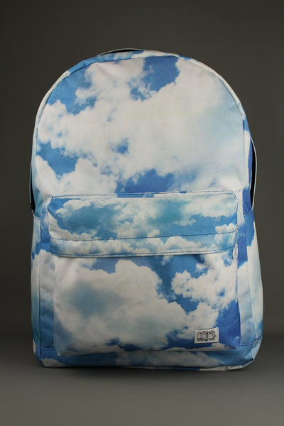 Spiral Cloud Blue Backpack Rucksack School Bag - 4 Seasons Store