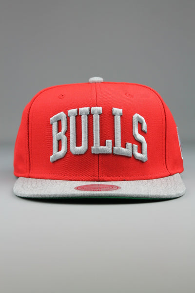 MITCHELL & NESS TC TOP Chicago Bulls Snapback Baseball Cap Hat Red - 4 Seasons Store