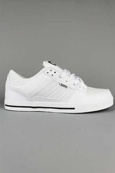 Osiris Mens Protocol Skate Shoes Trainers White /Black /GUM - 4 Seasons Store