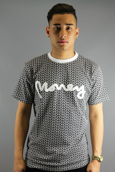Money Clothing All Over George Gorilla  Tee T-Shirt Classic White  - JT 16317 - 4 Seasons Store