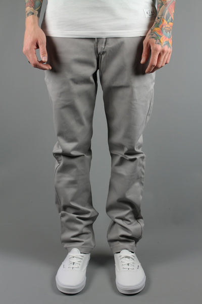 Dickies WP803 Slim Skinny Work Pants Silver Grey Trousers Chinos - 4 Seasons Store