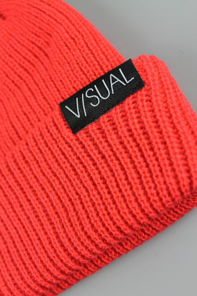 Visual VS Beanie Hat Red