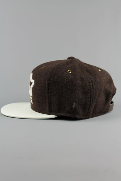 STARTER ST421 AllCity Strapback Hat Caps Chocolate - 4 Seasons Store