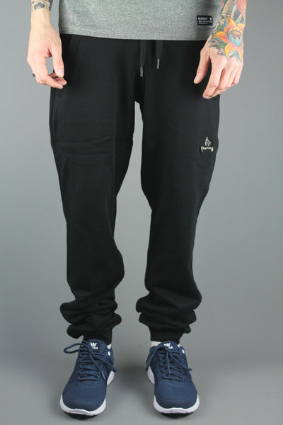 Money Clothing Signature Metal Combo Track Pants Jet Black - J16122 - 4 Seasons Store