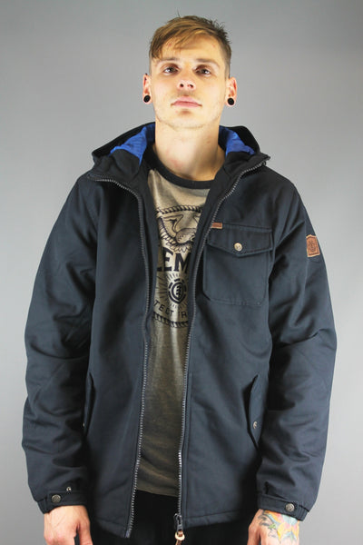 Element Q1JKA7 ELW4 1874 FREEMONT JACKET Total Eclipse Navy Blue - 4 Seasons Store