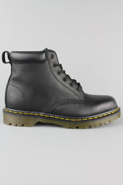 Dr Martens DM'S 939 11292001 Black Greasy Ben Lace Up Boots Ben Sole UK 7 - UK 12 - 4 Seasons Store