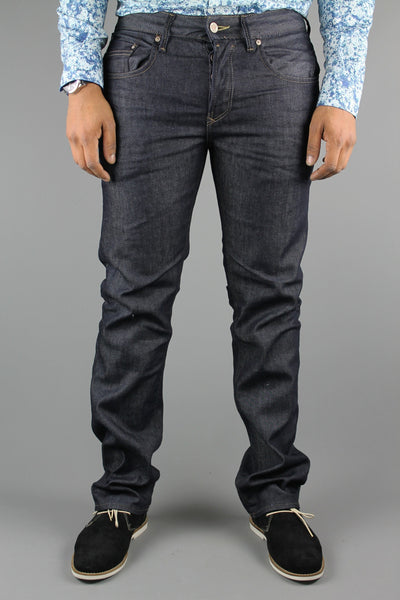 Duck & Cover DAC6B0039 Mens Boxsir Regular Straight Denim Jeans Grove 3D Black - 4 Seasons Store