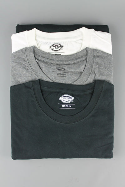 Dickies 06 210114 Mens MC Short Sleeve Crew Neck T Shirt Pack Assorted Colours - 4 Seasons Store