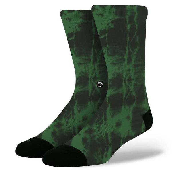 Stance M310D13BUR Side Step Foundation Burnout Green Everyday Casual Socks - 4 Seasons Store