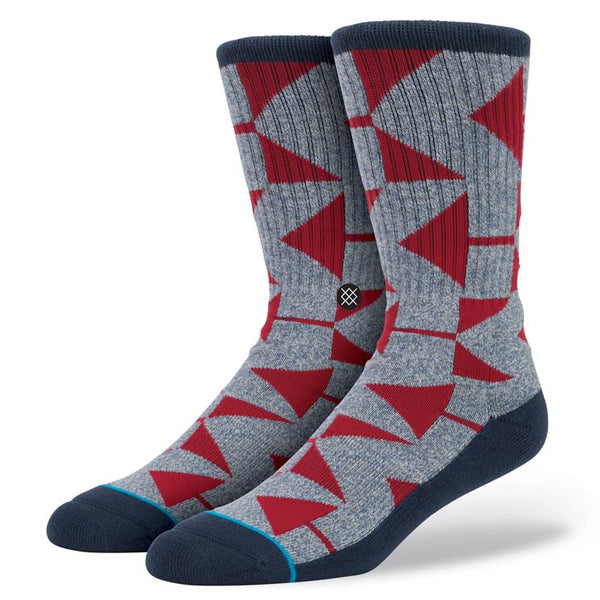Stance M311C15CAR Stance Blue CARDWELL Blue Athletic Everyday Casual Socks - 4 Seasons Store