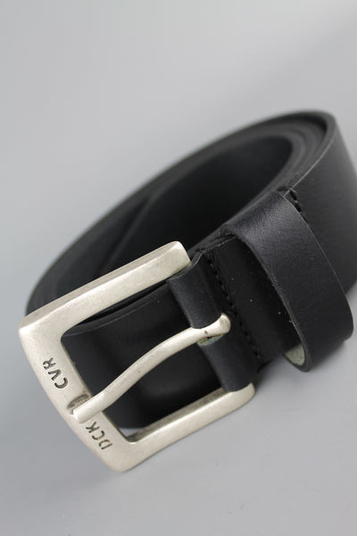 Duck & Cover DAC8B0008 Mens Standard Leather Belt Black - 4 Seasons Store