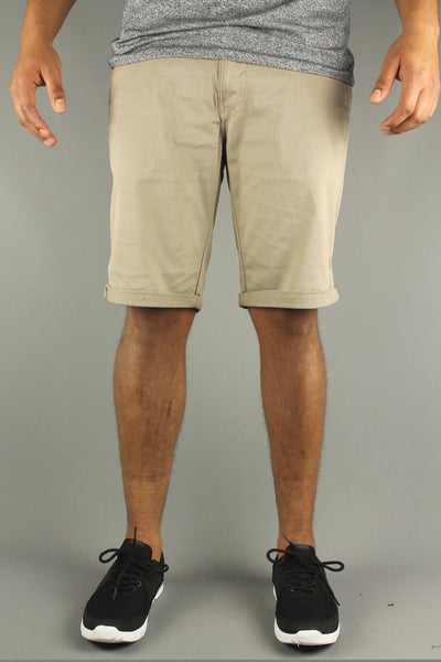 Lindbergh 30-54007 Mens Stretch Chino Shorts Sand Beige - 4 Seasons Store