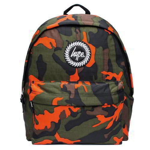 HYPE JUST HYPE SS1721007 ZEST CAMO GREEN Backpack Rucksack Bag