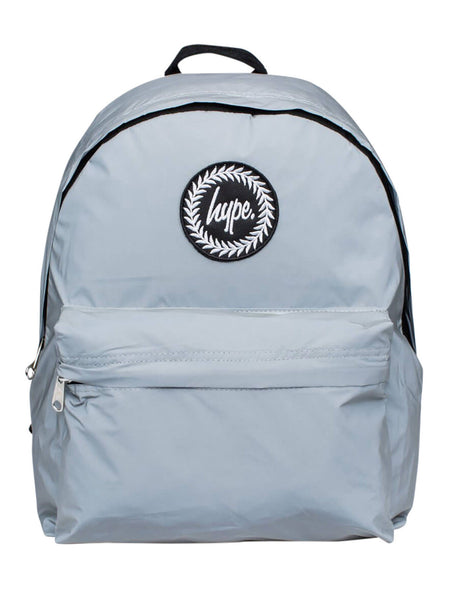 HYPE JUST HYPE SS1724002 REFLECTIVE SILVER GREY Backpack Rucksack Bag