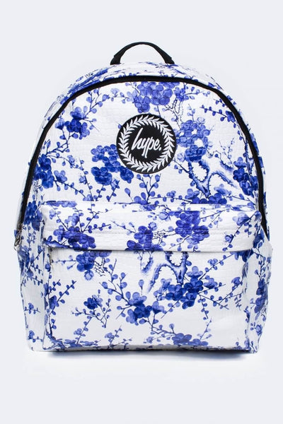 HYPE JUST HYPE SS1725002 REAL CHINA WHITE BLUE Backpack Rucksack Bag