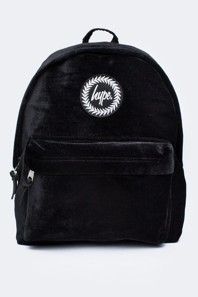 HYPE JUST HYPE SS1726012 VELVET BLACK Backpack Rucksack Bag