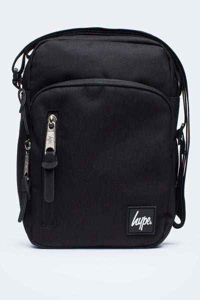 HYPE JUST HYPE SS1731001 CORE BLACK ROADMAN Messenger/Shoulder BAG
