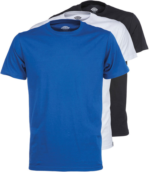 Dickies 06 210482 Uniontown Short Sleeve Crew Neck T Shirt Pack Assorted Colours - 4 Seasons Store