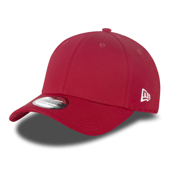 New Era 39THIRTY 11179868 Basic Baseball Stretch Fit Cap Hat Scarlet Red White - 4 Seasons Store