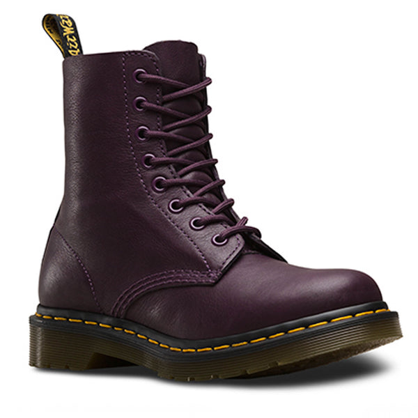 Dr Martens DM'S 1460 Pascal Purple Virginia 13512511 Womens 8 Eyelet Boots