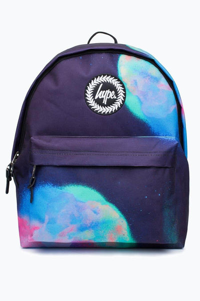 Hype Just Hype Backpack Rucksack Bags Multi Rap Spray School Bag AW17374
