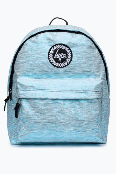 Hype Just Hype Blue Sky Foil Backpack Rucksack Bags School Bag AW17402
