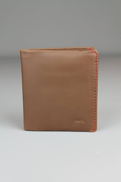 Bellroy Mens Note Sleeve Cocoa Light Brown Wallet - 4 Seasons Store
