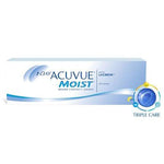 1-Day Acuvue Moist - 30 Pcs-Clear Contacts-UNIQSO