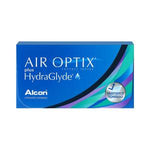 Air Optix Plus HydraGlyde - 3 Pcs-Clear Contacts-UNIQSO