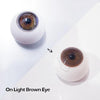 Dolly Eye Bubble Brown-UNIQSO