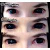 Kazzue Black Sclera Lens Sabretooth/Blackout/Black with Prescription-UNIQSO