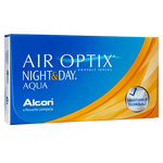 Air Optix Night & Day - 3 Pcs-Clear Contacts-UNIQSO