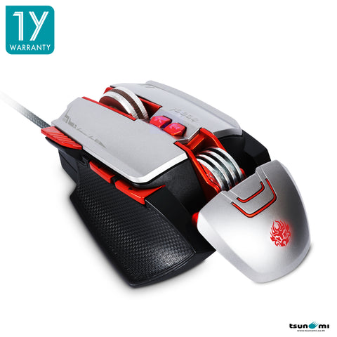 Tsunami 8D GM-508 Macro Gaming Mouse (Memory Function)