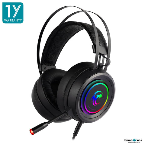 Tsunami GE-10 RGB Gaming Headset Supreme Stereo Sound + Omni-Direction Microphone