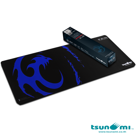 MP-01 (90X30X0.3 mm) Mousepad (Blue)