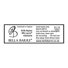 Load image into Gallery viewer, Lace Washing Label for Bella Barre's Adult Ballet, Dance & Fitness Wear