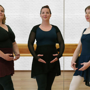 Lace Shrugs for Adult Ballet, Dance & Fitness Wear - from Bella Barre