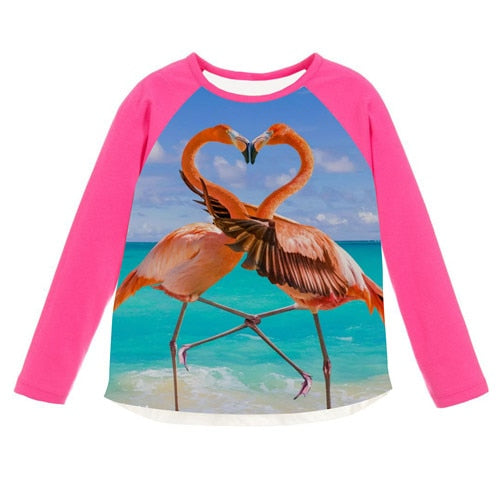 Kids Fashion Long Sleeve Shirts
