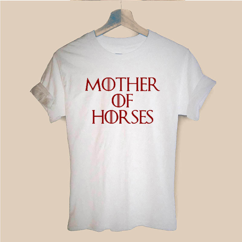 Mother Of Horses T Shirt