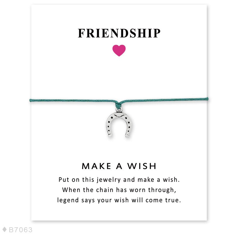 Friendship Gift for Horse Lovers Bracelet